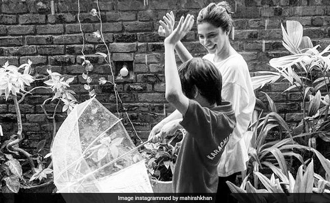 माहिरा खान के बेटे को उनके जन्मदिन पर भावुक नोट: '11 साल पहले, आपने अपने मामा को जन्म दिया '