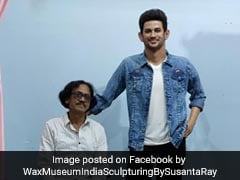 Sushant Singh Rajput's Tussauds-Like Wax Statue Made By Bengal Sculptor