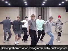 K-Pop Band BTS Grooves To '<i>Chadti Jawani</i>' In This ROFL Video
