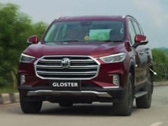 MG Gloster Bookings Open For A Token Of Rs. 1 Lakh