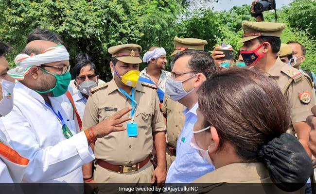 On His Way To Ayodhya To Meet Farmers, UP Congress Chief Detained In Barabanki