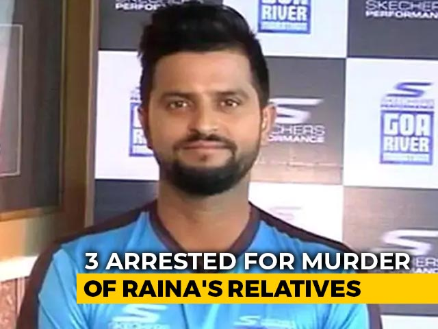 Video : 3 Arrested For Murder Of Suresh Raina's Relatives, Case Solved: Punjab