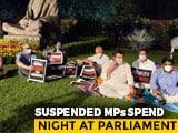 Video : PM Backs Rajya Sabha Deputy Chairman After Suspended MPs Snub Tea Offer