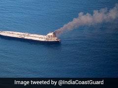 Oil Tanker Fire: Coast Guard Sends 3 Ships, Aircraft After Sri Lanka Seeks Help