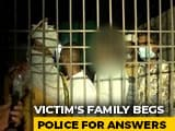 Video : In UP Gang-Rape Tragedy, 2.30 AM Cremation By Cops, Family Was Locked In
