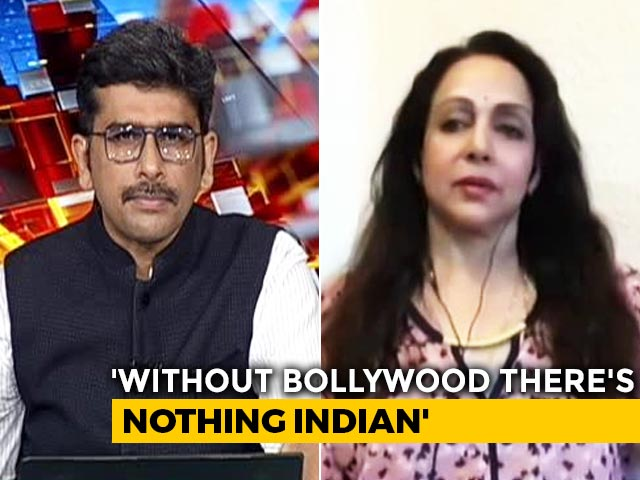 Video : Can't Stand And Watch People Talk Bad About Bollywood: Hema Malini