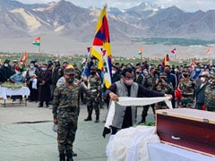 In Signal To China, BJP's Ram Madhav At Tibetan Soldier's funeral