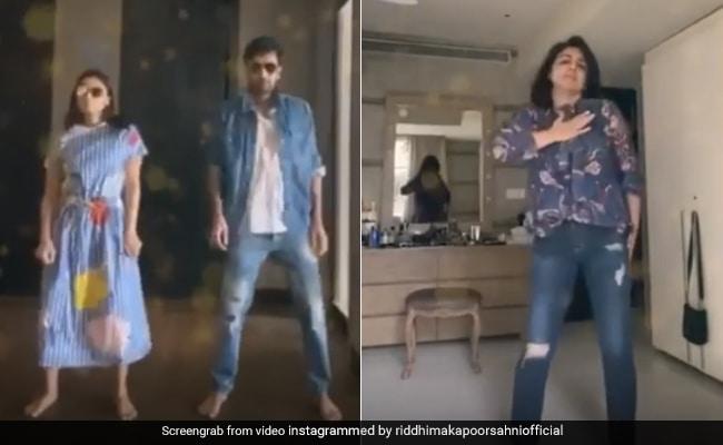 Ranbir Kapoor, Alia Bhatt And Neetu Kapoor's Groovy Surprise For Birthday  Girl Riddhima Kapoor Sahni