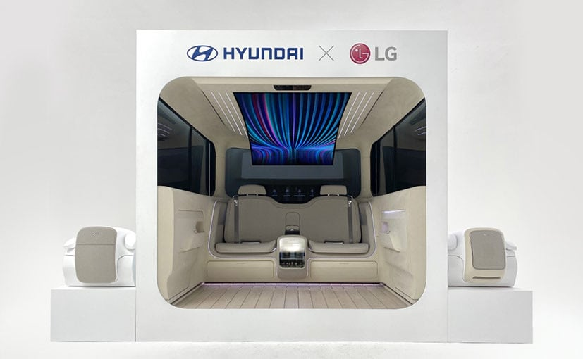 Hyundai Partners With LG For The IONIQ Cabin Concept For EVs