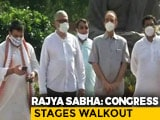 "Video : ""Rajya Sabha Boycott Till 3 Demands Met"": Opposition Cranks Up Pressure"