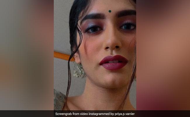 प्रिया प्रकाश वारियर ने 'तेरे नैना' सॉन्ग पर यूं दिया एक्सप्रेशन, बार-बार देखा जा रहा Video