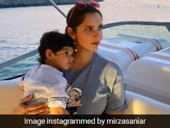 Sania Mirza And Izhaan Mirza Malik Are Setting The Cutest Mommy And Son Style Goals