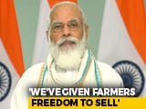 "Video : Farm Bills ""Needed For 21st Century India"": PM Amid Opposition Protests"