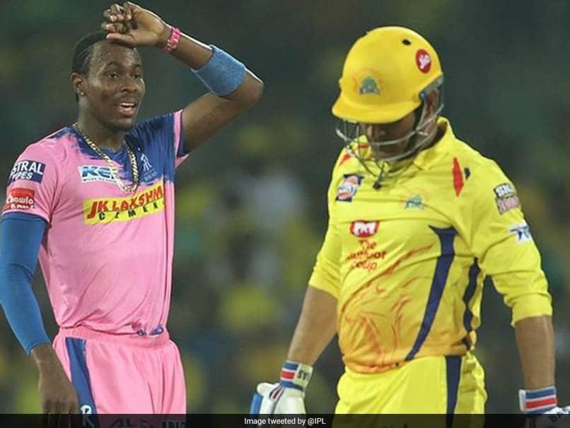 IPL 2020, Rajasthan Royals vs Chennai Super Kings Face-Off: Jofra Archer vs MS Dhoni