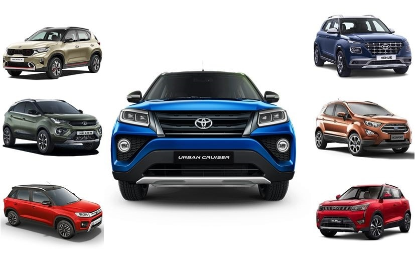 The Toyota Urban Cruiser is the newest SUV in the highly competitive sub-4 metre segment