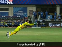 IPL 2020, DC vs CSK: MS Dhoni Takes Flying Catch To Dismiss Shreyas Iyer. Watch