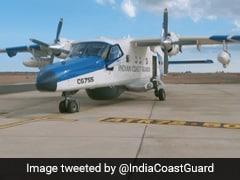 Dornier Aircraft To Help Douse Fire Aboard Oil Tanker Off Sri Lanka Coast