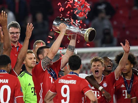 Bayern Munich Set European Football Record After UEFA Super Cup Win