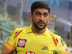 """""""How Handsome"""": MS Dhoni's Wife Sakshi Reacts As CSK Skipper Returns To Action"""