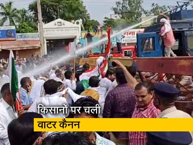 Videos : किसानों की दिल्ली कूच को हरियाणा पुलिस ने रोका