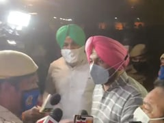 Delhi Police Versus Punjab MPs As PM Modi Leaves Parliament