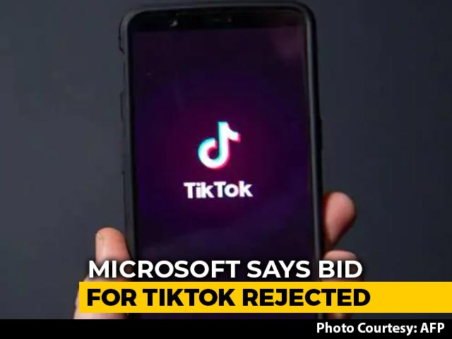 Video : Microsoft Says Its TikTok Buyout Offer Rejected