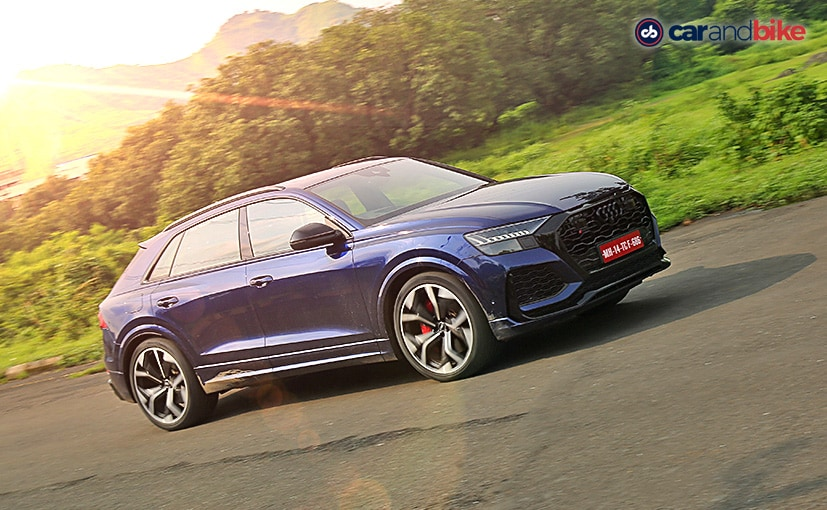 The Audi RS Q8 draws power from the 4.0-litre bi-turbo V8 with 600 bhp and 800 Nm