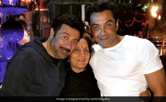 Sunny And Bobby Deol's Birthday Wishes For Their Mom Came Gift-Wrapped Like This