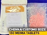 Video : Parcel Containing Over 100 Ecstasy Pills From France Seized At Chennai Airport