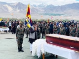 Video : In Signal To China, BJP's Ram Madhav At Tibetan Soldier's Funeral