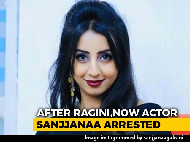 Video : Kannada Actress Sanjjanaa Galrani Arrested As Drugs Probe Widens