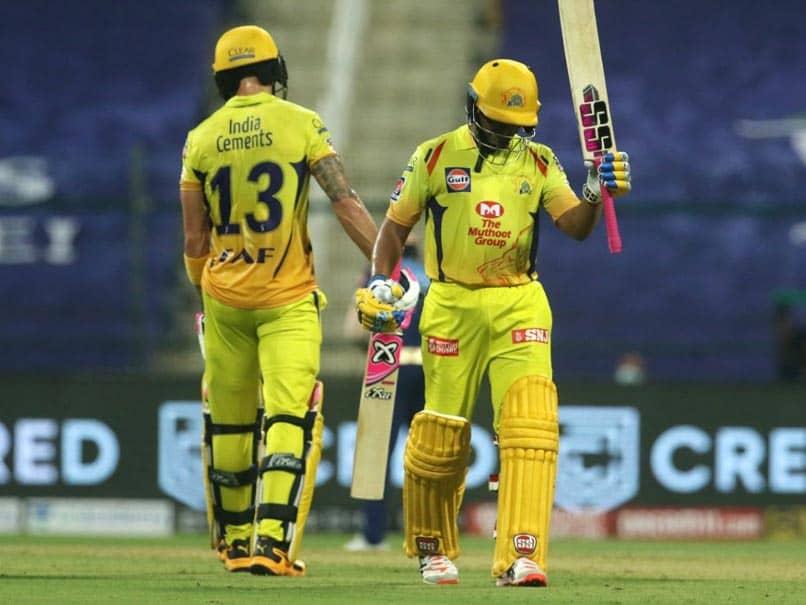 IPL 2020, MI vs CSK: Ambati Rayudu, Faf Du Plessis Star As CSK Beat Mumbai Indians By 5 Wickets
