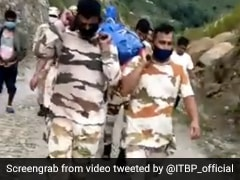 ITBP Soldiers Walk 25 kms In 8 Hours To Carry Local's Body In Uttarakhand