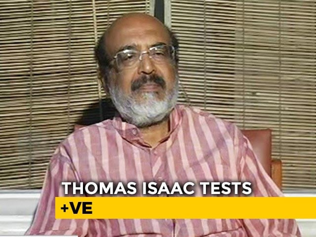 Video : Kerala Finance Minister Thomas Issac Tests Positive For COVID-19