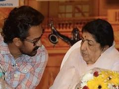 "Aamir Khan Shares Belated Birthday Wish For ""Didi"" Lata Mangeshkar"