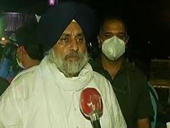 'शर्मनाक राजनीतिक नौटंकी' अमरिंदर सिंह के धरने को लेकर सुखबीर सिंह बादल की तीखी टिप्पणी