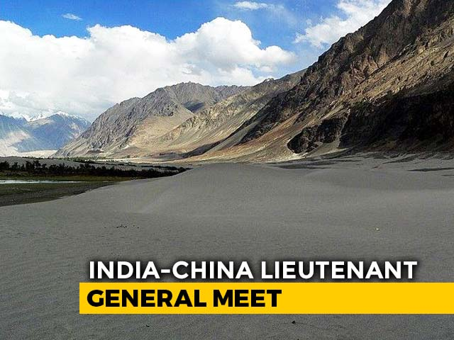 Video : India, China Hold Military Commanders' Talks To Defuse Border Tension