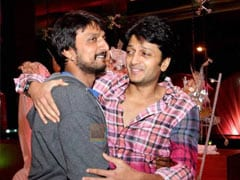 "To Birthday Boy Kiccha Sudeep, A ""Big Hug"" From Riteish Deshmukh"