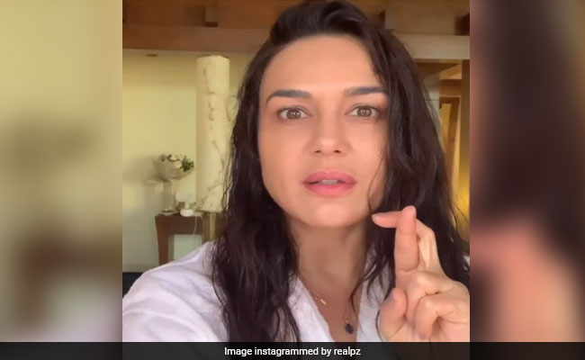 Preity Zinta, Quarantined In Dubai, Is 'Little Bit Nervous' About Her Fourth COVID-19 Test
