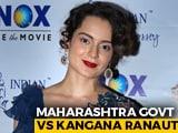 """Video : Kangana Ranaut vs Maharashtra Government Over """"Mumbai-PoK"""" Remark"""