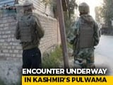 Video : Encounter Breaks Out Between Security Forces, Terrorists in J&K's Pulwama