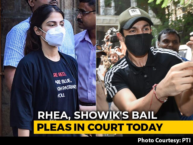 Video : Bombay High Court To Pass Order On Rhea Chakraborty's Bail
