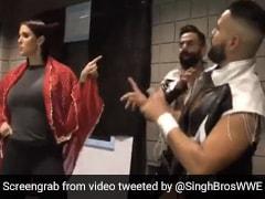 WWE की मालकिन ने ओढ़ी लाल चुनरिया और करने लगीं आमिर खान के गाने पर डांस, देखें Video