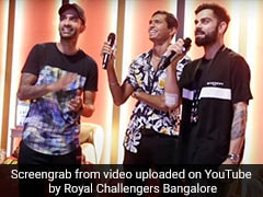 IPL 2020: विराट कोहली ने विदेशी खिलाड़ियों के सामने गाया पंजाबी गाना, फिर ऐसे किया भांगड़ा - देखें Video