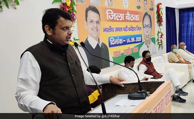 Devendra Fadnavis, BJP's Bihar Poll Campaign In Charge, Has Coronavirus