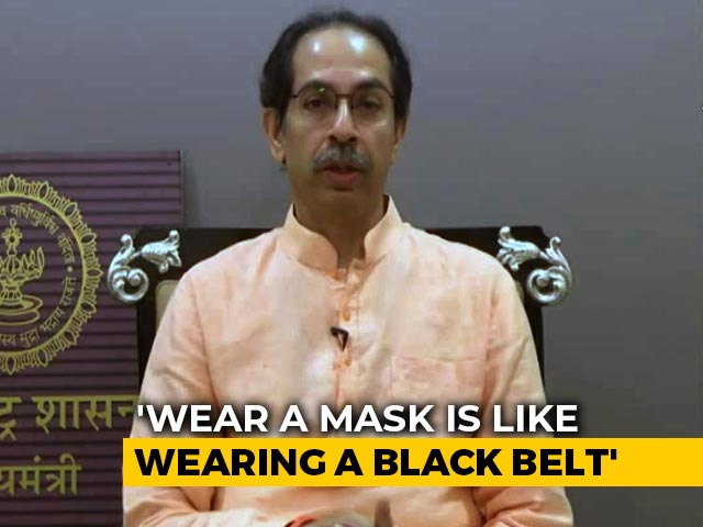 "Video : ""Will Face All Political Storms, Will Fight Covid Too"": Uddhav Thackeray"