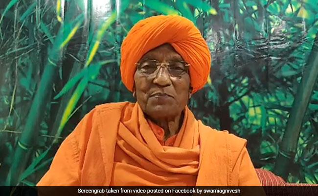 Social Activist Swami Agnivesh Dies At A Hospital In Delhi