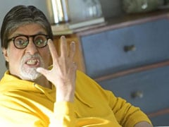 "The Effect Of Too Much Coffee On Amitabh Bachchan - Or Maybe The ""Excessive Mascara"""