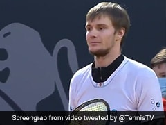 Kazakh Tennis Player Alexander Bublik Bamboozles Opponent With No-Look Underarm Ace. Watch