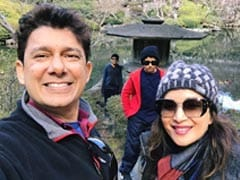 Madhuri Dixit Bookmarks One Of Her Favourite Pages From Her Travel Diaries